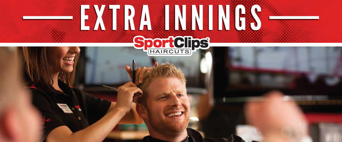 The Sport Clips Haircuts of Cannery Corner  Extra Innings Offerings